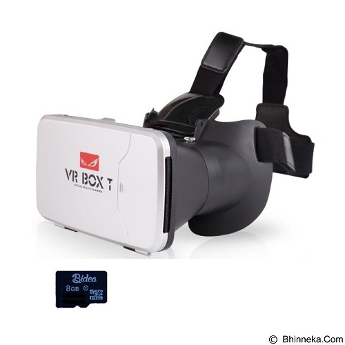 VR BOX 2nd Generation Cardboard Virtual Reality [PVBTV2] (Merchant) - Gadget Activity Device