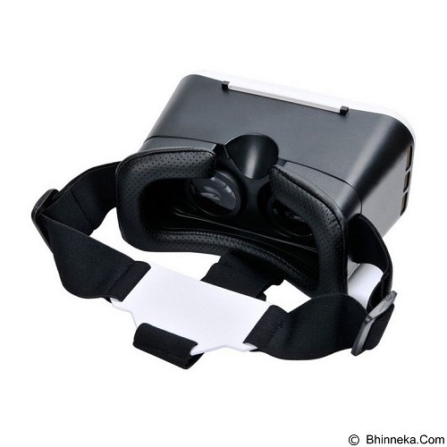 VR PARK V2 Smartphone Virtual Reality Headset - Black (Merchant) - Gadget Activity Device
