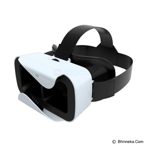 VR SHINECON Generation 3 Virtual Reality Glasses Mobile 3D Video Movie Glasses - White (Merchant) - Gadget Activity Device