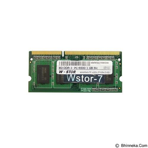 W-Stor Memory SO DDR3 PC8500 1GB 8ic (Merchant) - Memory So-Dimm Ddr3