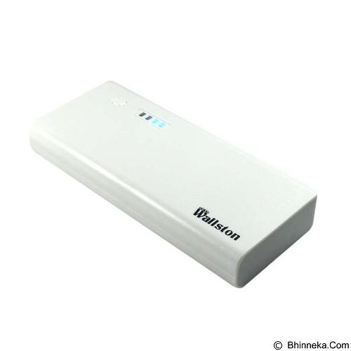 WALLSTON Powerbank 15000mAh [PBWL15000-02] - White - Portable Charger / Power Bank