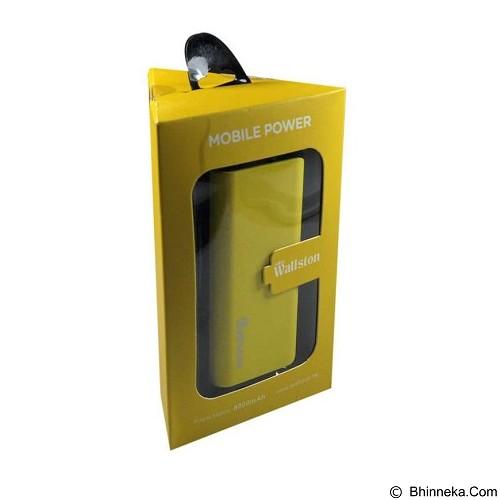 WALLSTON Powerbank 8800mAh [PBWL8800-0Y] - Yellow - Portable Charger / Power Bank