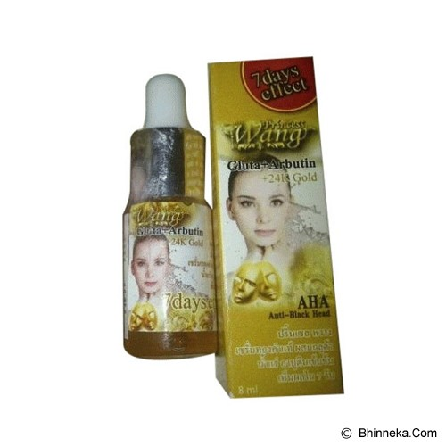 WANG Serum Gluta Arbutin 24K Gold - Serum Wajah