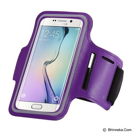 WANKY CELL Armband S Phone Running - Purple (Merchant) - Arm Band / Wrist Strap Handphone