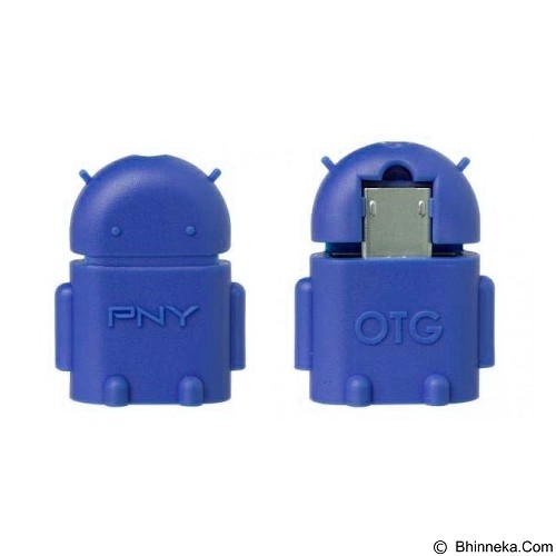 WANKY CELL Cable OTG Connect Kit Robot Micro USB - Blue - Cable / Connector Usb
