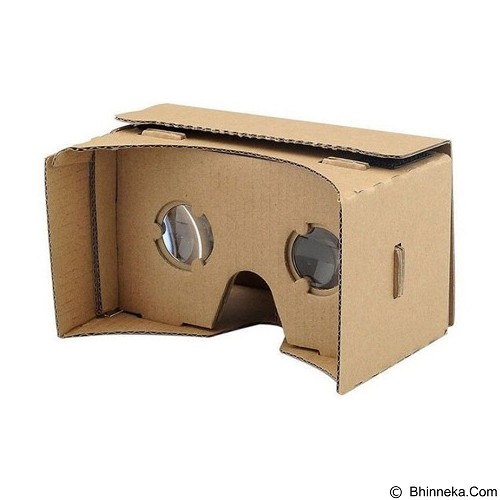 LONG CELL Cardboard Virtual Reality [OMTH10XX] - Brown - Gadget Activity Device