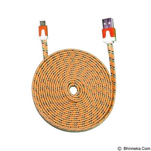 WANKY CELL Data Cable 3M Micro USB - Orange - Cable / Connector USB