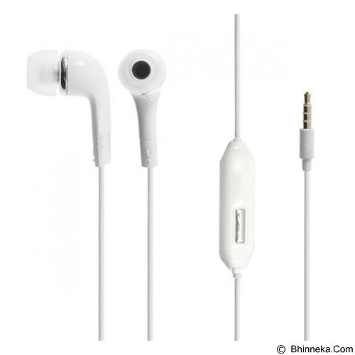 WANKY CELL Headset Stereo for  Advan Vandroid - White - Earphone Ear Monitor / Iem