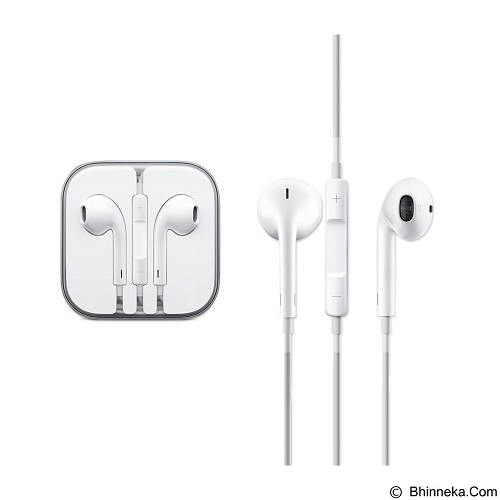 WANKY CELL Headset Stereo for Apple iPhone 5 - White - Earphone Ear Bud