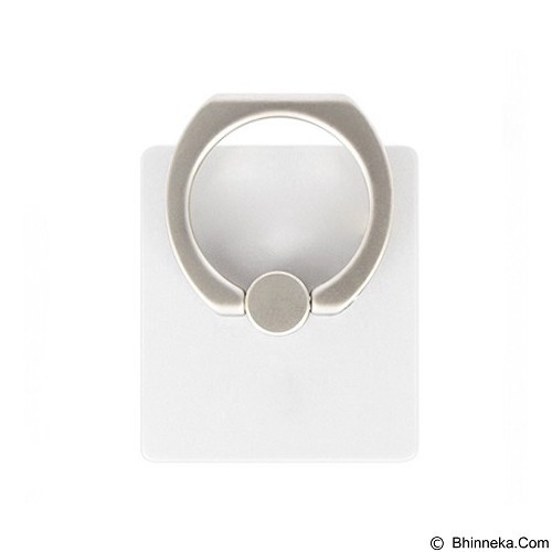 WANKY CELL Ring Stand Phone for Samsung - White (Merchant) - Gadget Docking