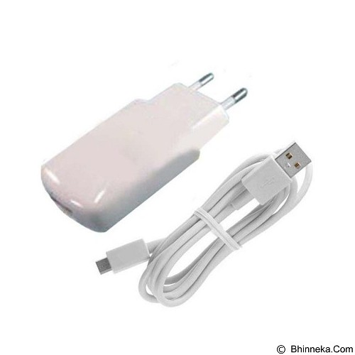 WANKY CELL Travel Charger Advan Micro USB - White - Charger Handphone