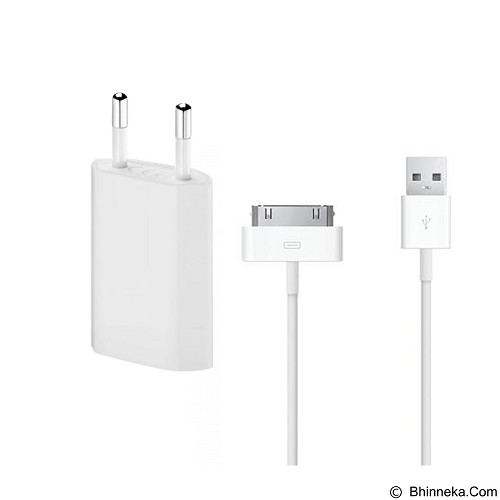 WANKY CELL Travel Charger Apple iPhone 4/4s Micro USB - White - Charger Handphone