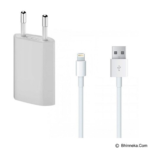 WANKY CELL Travel Charger Apple iPhone 5/5G/5s Micro USB - White - Charger Handphone