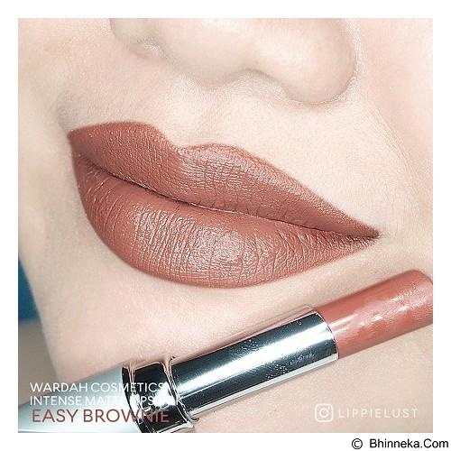 WARDAH Wardah Intense Matte Lipstick 05 - Easy Brownie (Merchant) - Lipstick
