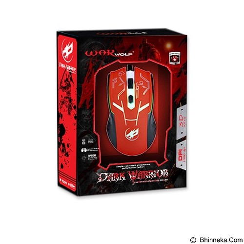 WARWOLF Gaming Mouse [M540] - Blue - Gaming Mouse