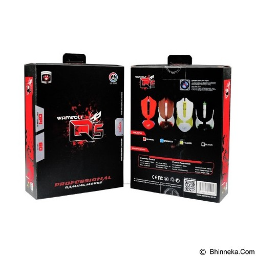 WARWOLF Gaming Mouse [Q5] - Brownize - Gaming Mouse