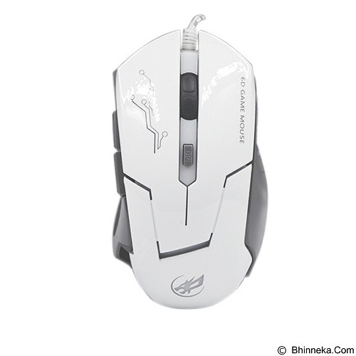 WARWOLF Gaming Mouse [T5] - White - Gaming Mouse