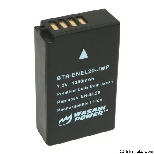 WASABI POWER Battery for Nikon EN-EL20/EN-EL20a (Merchant) - On Camera Battery
