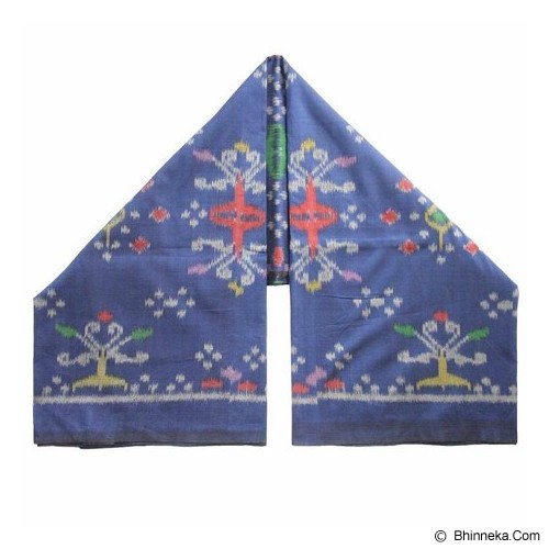 WASTRA ETNIK DESIGN Endek Kenyeri [Wastra187] - Blue - Setelan Songket Wanita