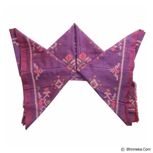 WASTRA ETNIK DESIGN Endek Ketupat [Wastra189] - Purple - Setelan Songket Wanita