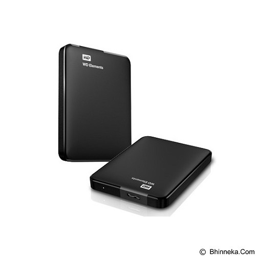 WD Element 1TB (Merchant) - Hard Disk External 2.5 Inch