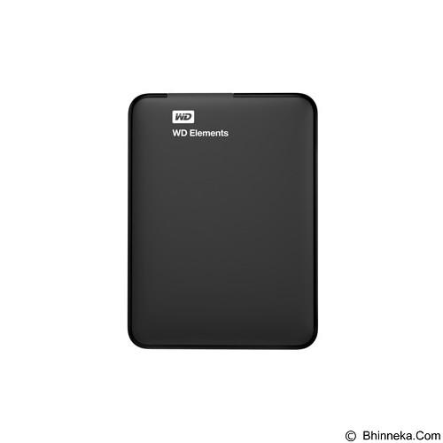 WD Elements New Edition  USB 3.0 1TB [WDBUZG0010BBK-PESN] (Merchant) - Hard Disk External 2.5 inch