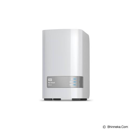 WD My Cloud Mirror Gen 2 8TB [WDBWVZ0080JWT] - Smb Nas 2-Bay