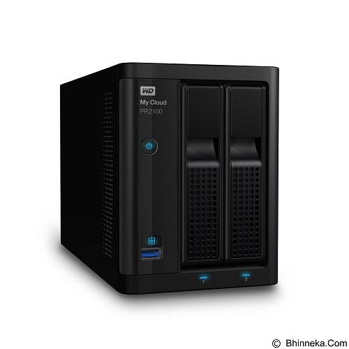WD My Cloud Pro PR2100 0TB [WDBBCL0000NBK-SESN] - SMB NAS 2-bay