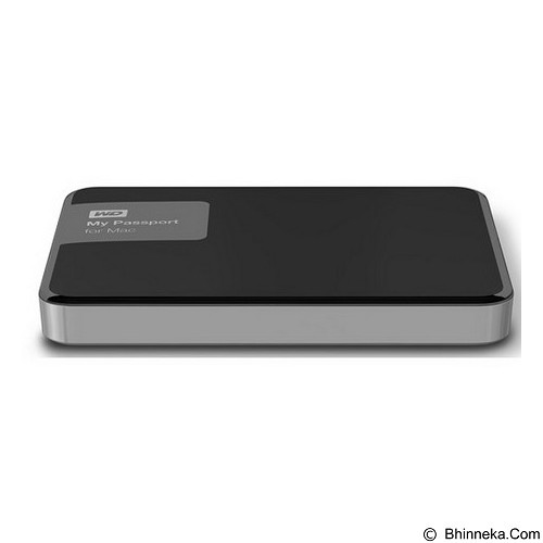 WD My Passport For MAC 2TB USB 3.0 - Black (Merchant) - Hard Disk External 2.5 Inch