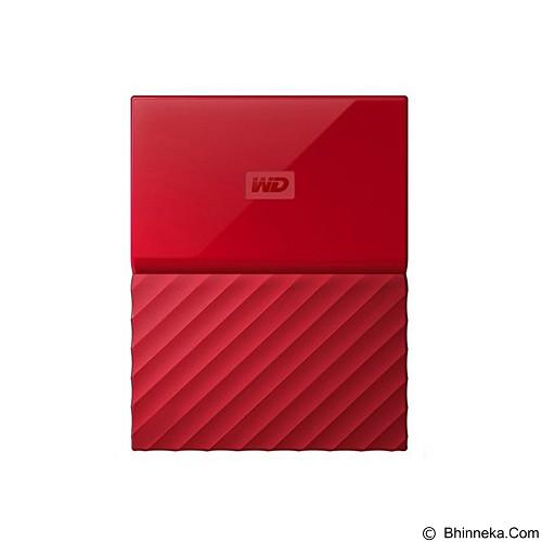 WD My Passport New 1TB USB 3.0  - Red [WDBYNN0010BRD]