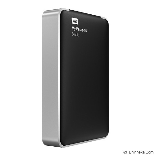 WD My Passport Studio New Edition 2TB [WDBU4M0020BBK-PESN] - Hard Disk External 2.5 Inch