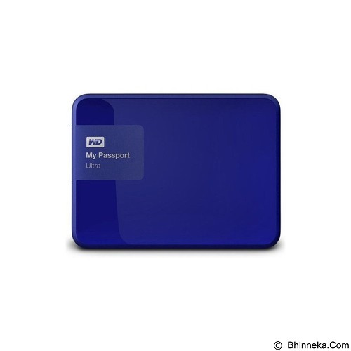 WD My Passport Ultra 1TB USB 3.0 - Blue (Merchant) - Hard Disk External 2.5 Inch