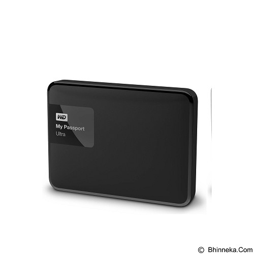 WD My Passport Ultra 2TB USB 3.0 - Black (Merchant) - Hard Disk External 2.5 Inch