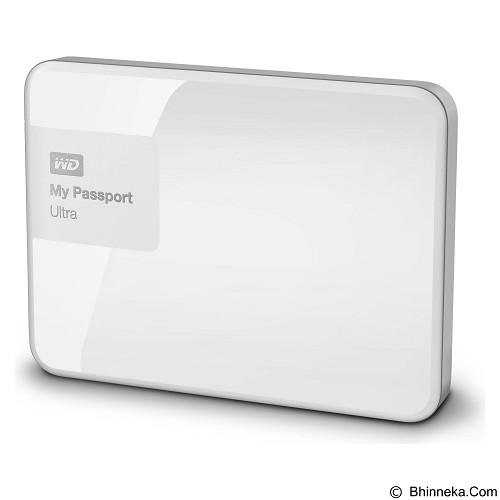 WD My Passport Ultra 500GB USB 3.0 - White - Hard Disk External 2.5 Inch