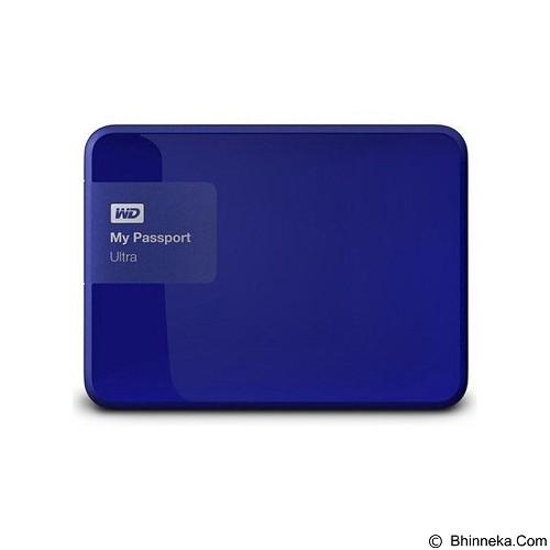 WD My Passport Ultra New 1TB USB 3.0 [WDBGPU0010BBL-PESN] - Blue (Merchant) - Hard Disk External 2.5 Inch