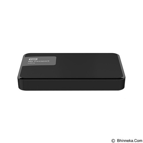 WD My Passport Ultra New 4TB USB 3.0 - Black (Merchant) - Hard Disk External 2.5 Inch