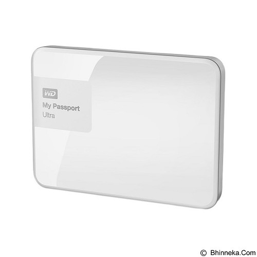 WD My Passport Ultra New 4TB USB 3.0 - White (Merchant) - Hard Disk External 2.5 Inch