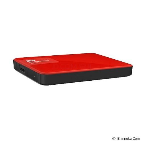 WD My Passport Ultra New 1TB USB 3.0 [WDBGPU0010BRD-PESN] - Red - Hard Disk External 2.5 Inch