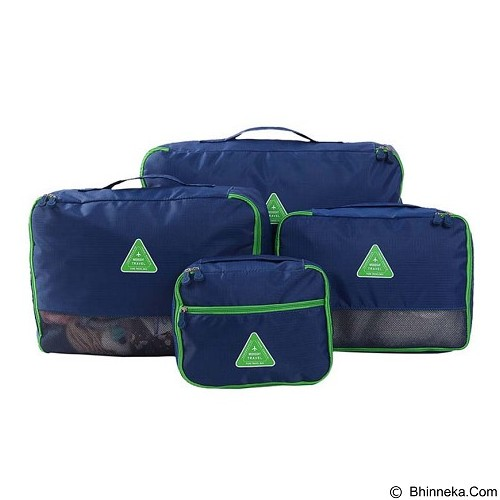 WEEKEIGHT Tas Travel Korean Puhe Travel Bag [WK-PTB-DB] - Dark Blue - Travel Bag