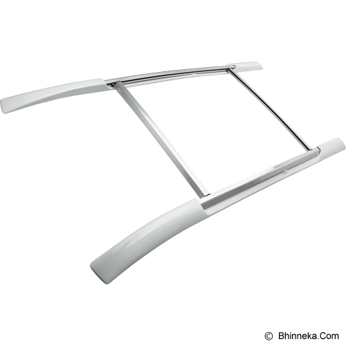 WELL CO Roof Rail Full ABS K4 Innova - White Metalic - Organizer Mobil