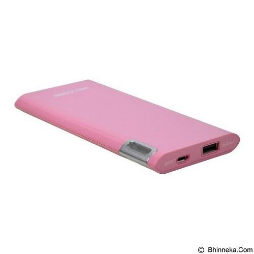 WELLCOMM Powerbank 10000mAh Real Capacity - Pink (Merchant) - Portable Charger / Power Bank