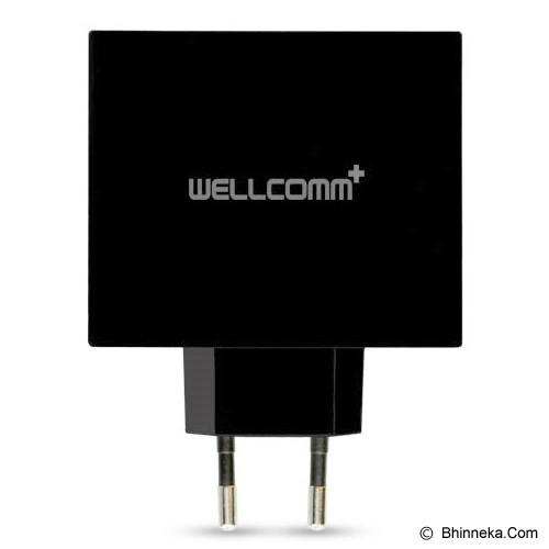 WELLCOMM USB Home Charger 4 Port Tab - Universal Charger Kit