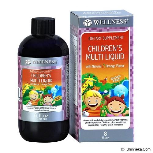 WELLNESS Children's Multi Liquid 8 Oz - Suplement Penambah Daya Tahan Tubuh