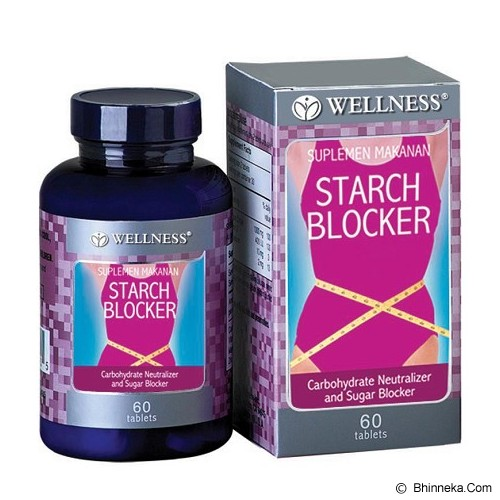 WELLNESS Starch Blocker 60 Tabs - Suplement Peningkat Metabolisme Tubuh