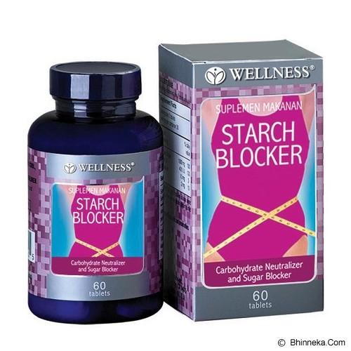 WELLNESS Starch Blocker 60 Tabs - Suplement Peningkat Metabolisme Tubuh