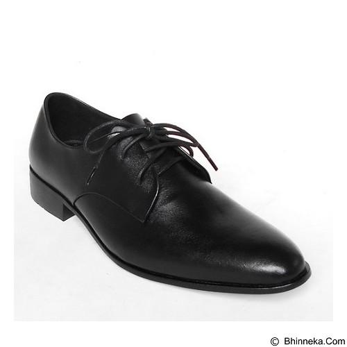 WETAN Sepatu Pantofel Pria Nusantara2 Size 41 - Black - Sepatu Kerja Formal Pria