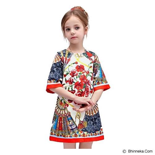 WL MONSOON Dress Princess Size 3A Y 98cm - White - Dress Bepergian/Pesta Bayi dan Anak