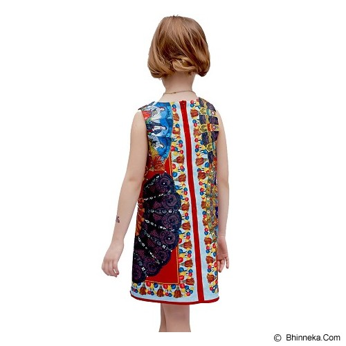 WL MONSOON Dress Princess Sleveless Size 3A Y 98cm - Red - Dress Bepergian/Pesta Bayi dan Anak