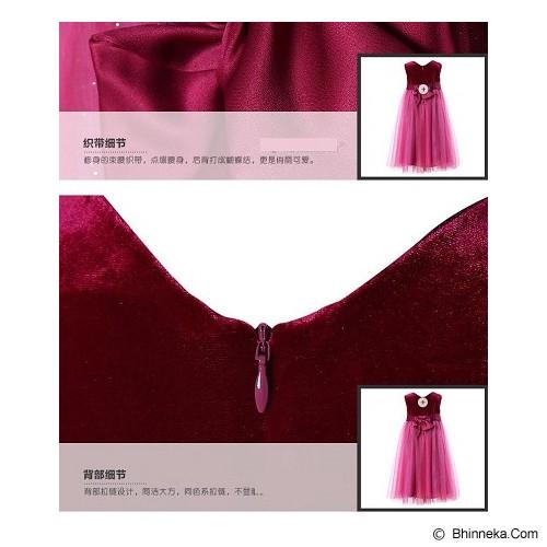 WL MONSOON Dress Wine Size 12A Y 152cm - Red - Dress Bepergian/Pesta Bayi dan Anak