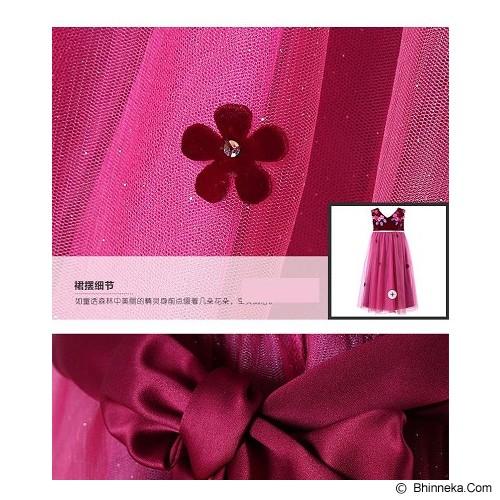 WL MONSOON Dress Wine Size 6A Y 118cm - Red - Dress Bepergian/Pesta Bayi dan Anak